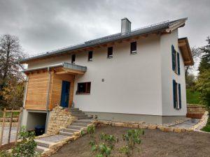 63t Lehm und 45m³ Holz …